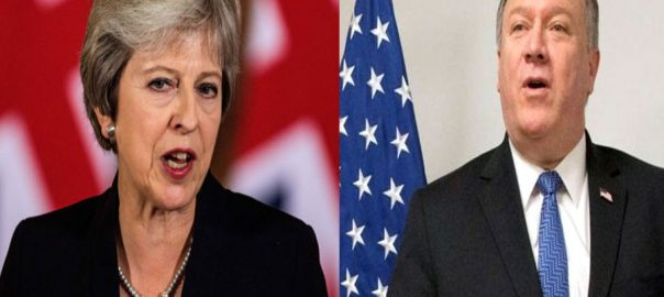 Britian India Pak-India tension pakistan Theesra May UK PM US