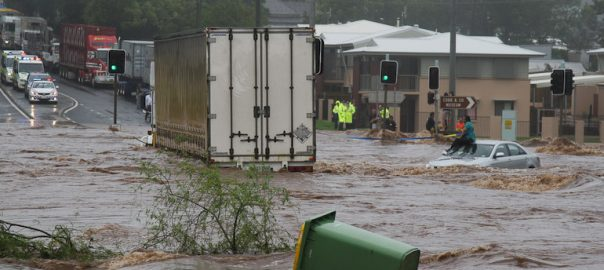 floods Queensland weather bureau rainfall