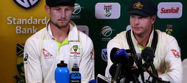 bancroft ball tampering adam gilchrist David Warner