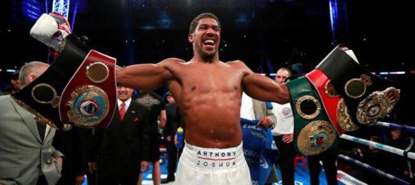 Anthony Joshua Jarrell 'Big Baby' WBA IBF WBO IBO