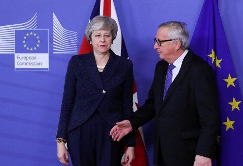 brexit european union may juncker parliament