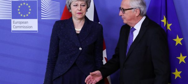 brexit european union may juncker parliament