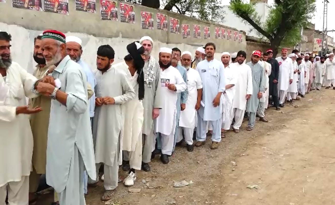 Polling underway for PK-30 Mansehra by-poll