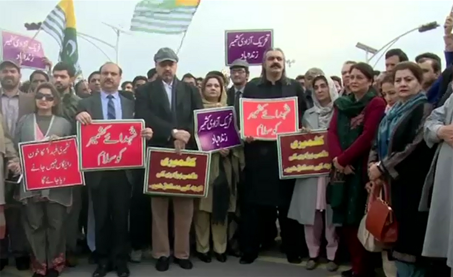 Rallies taken out on Kashmir Solidarity Day across country