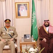 COAS, Qamar Bajwa, Saudi crown prince, defence, cooperation, strategic partnership
