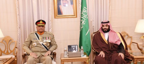 COAS, Qamar Bajwa, Saudi crown prince, defence, cooperation, strategic partnership