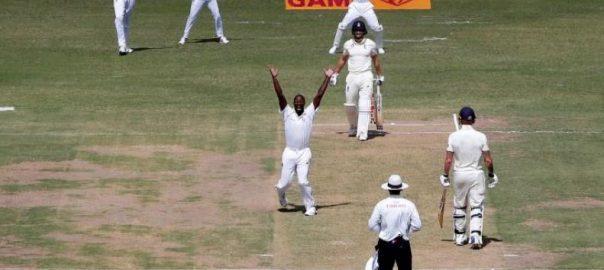 Kemar Roach first innings Kraigg Brathwaite John Campbell test