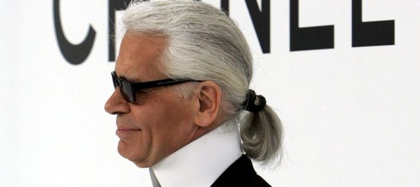 Haute-couture, designer, fashion icon, Karl Lagerfeld, 85