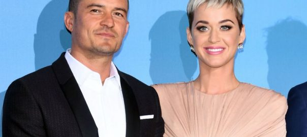 Pop star Katy Perry Orlando Bloom instagram valentine day