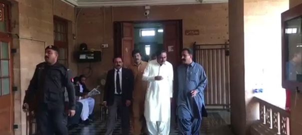 PPP NAB NAb's arrest fearing arrest Sindh Assembly Speaker Agha Siraj Durrani. Jam Khan Shoro Aijaz Jakhrani