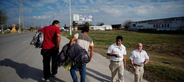 Caravan, migrants, Texas, border, routes