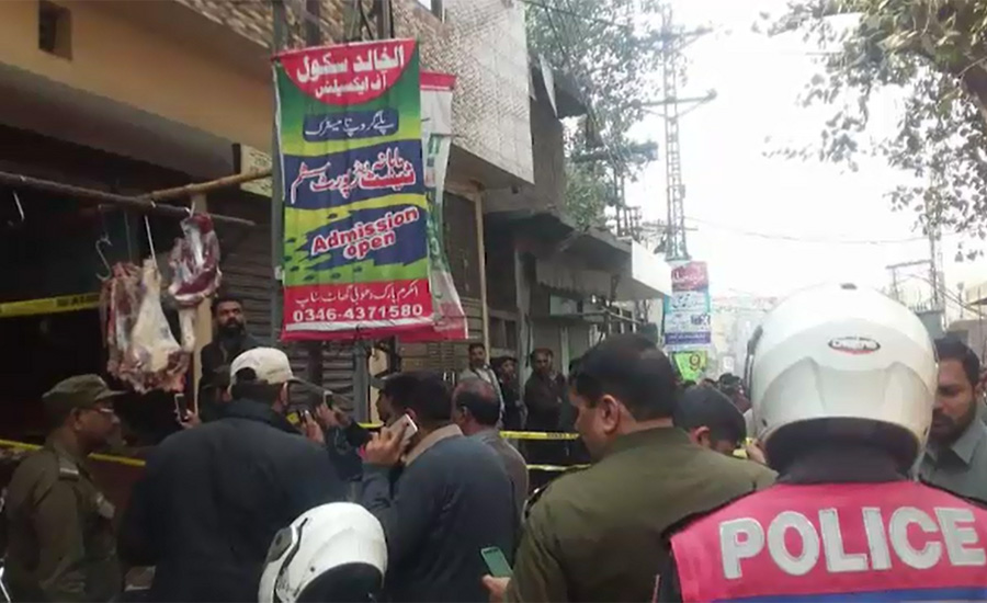 Three brothers shot dead over enmity in Lahore