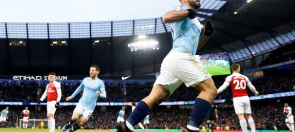 Aguero, Man City, Arsenal