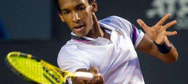 Felix Auger-Aliassime Canadian ATP 500 final Pablo Cuevas Aljaz Bedene