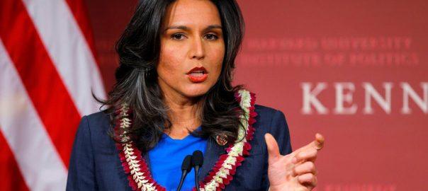 Gabbard, US Congresswoman, 2020, candidacy
