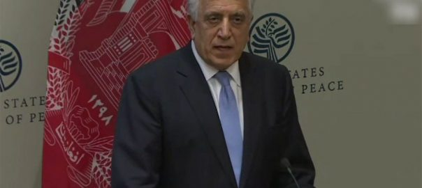 dialgues peace talks afghan zalmay khalilzad us envoy