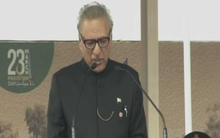Desire for peace not to be considered a weakness, says President Alvi