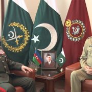 Azerbaijan, defence, minister, COAS, Qamar, Bajwa, security, defence