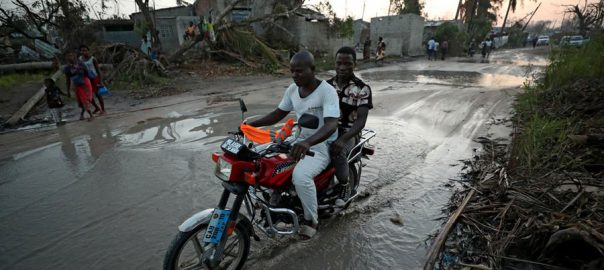 CHOLERA CYCLONE MOZAMBIQUE DEATHS