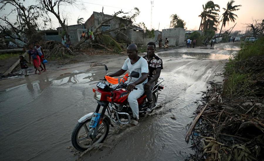 Mozambique confirms 138 cholera cases after cyclone strikes Beira