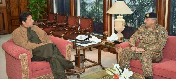 COAS, Qamar Javed Bajwa, PM, Imran Khan, security, professional matters