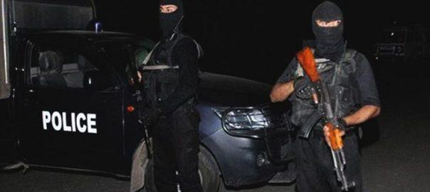 CTD Sindh Rangers encounter militants banned organization KarachiCTD, terrorists, killed, explosives, maps, Gujrat