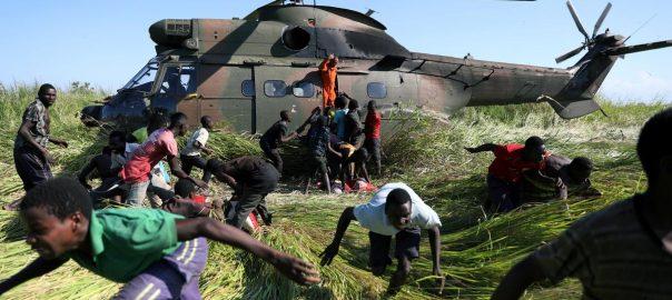 diarrhoea Cholera Mozambique cyclone survivors