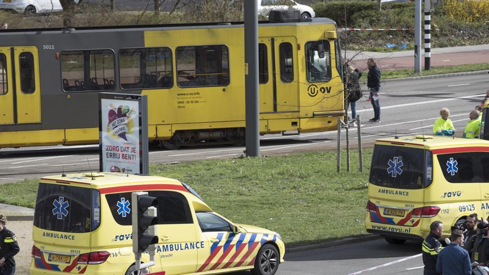 Dutch police hunt for Turkish man after three shot dead in tram