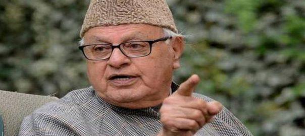 Modi, disturbance, polls, Occupied Kashmir, Farooq Abdullah