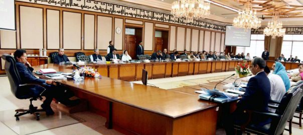 Federal, cabinet, meets, today, 19-point, agenda