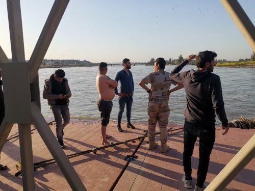 72 killed ferry sinks Iraq Tigris river