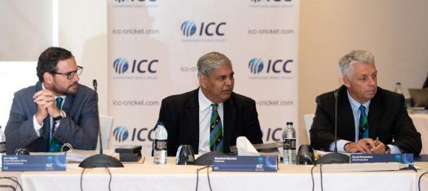 ICC BCCI Indian cricket board Javed Mianadad