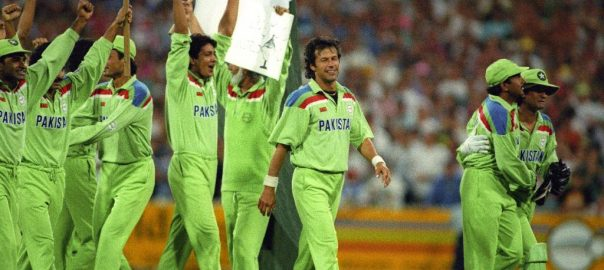 Pakistan cricket March 25 1992 history of Pakistan greatest day World Cup World Cup 1992 PCB ICC Imran Khan