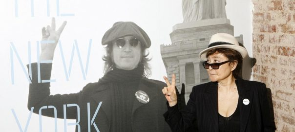 John Lennon Yoko Ono's Bed-In AMSTERDAM
