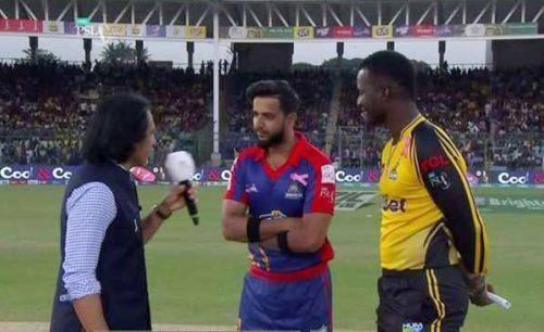 Karachi Kings Peshawar Zalmi PSL Karachi Sammy Darren Lahore Qalandars Multan Sultans Quetta Gladiators