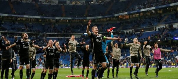 Madrid Ajax Mourinho