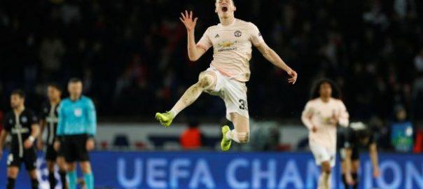 Man United PSG Champion League Manchester