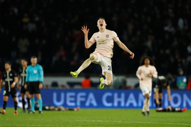 Manchester United complete stunning comeback to shatter PSG