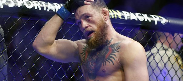 McGregor MMA fighter Florida fan's phone smashed