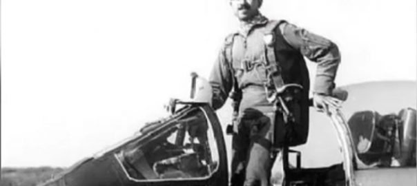 MM Alam 1965 War Hero Five-in-one-minute 6th death anniversary Pakistan Air Force 965 war hero Mohammad Mahmood Alam