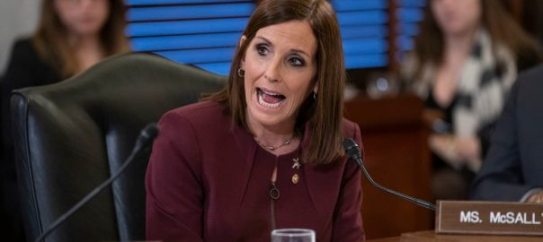 McSally US Senator McSally air force vetren Superior Officer