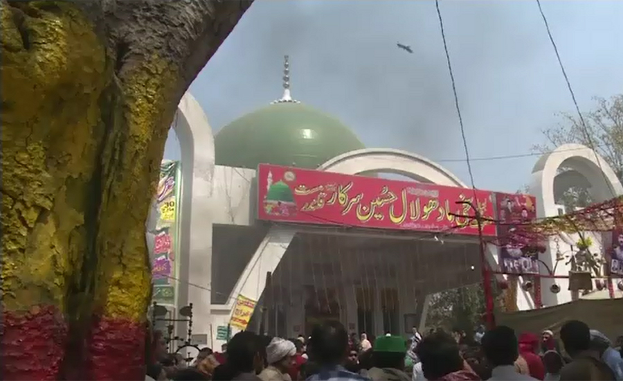 Devotees throng shrine as Hazrat Madhu Lal Hussain's Urs begins