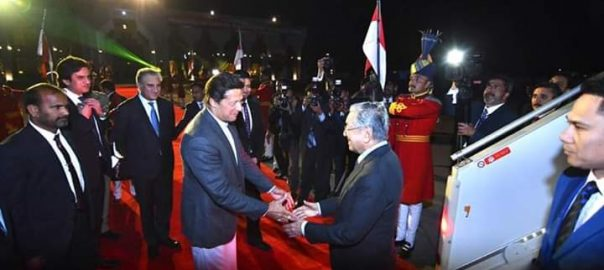 Malaysian PM Dr Mahathir receives warm welcome upon arrival in Pakistan