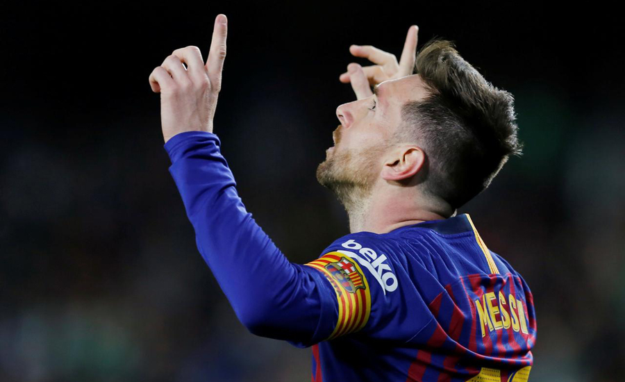 Marvellous Messi hits hat-trick as Barca torment Betis