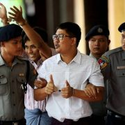 Myanmar's journalist top court myanmar Reuters reporters Kyaw