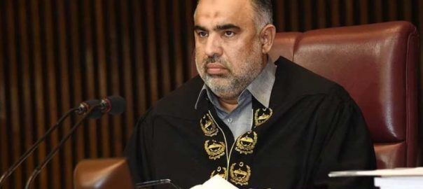 NA NA speaker LoC World parliaments Asad Qaiser IHK Indian held Jammu kashmir IoK India