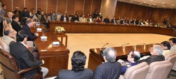 PM PM Imran Khan India Pakistan war Pak-India war PTI PTI PArliamentry meeting