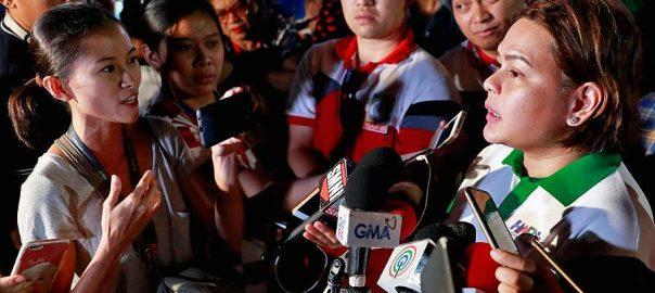 Duterte's The Philippine Filpino journalists Duterte's latest war