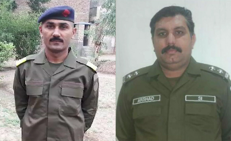 Two cops martyred in encounter with kidnappers in Liaquatpur