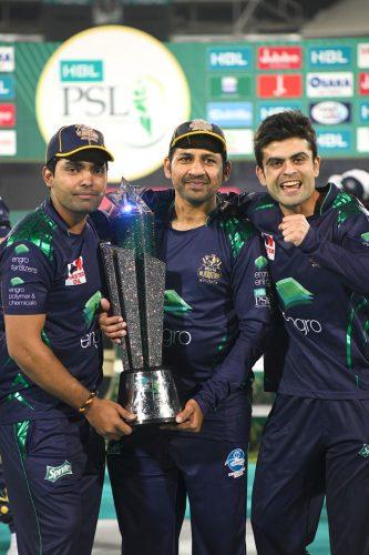 Hussnain, Shahzad, Quetta Gladiators, PSL, title